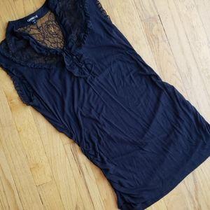 Womens black blouse
